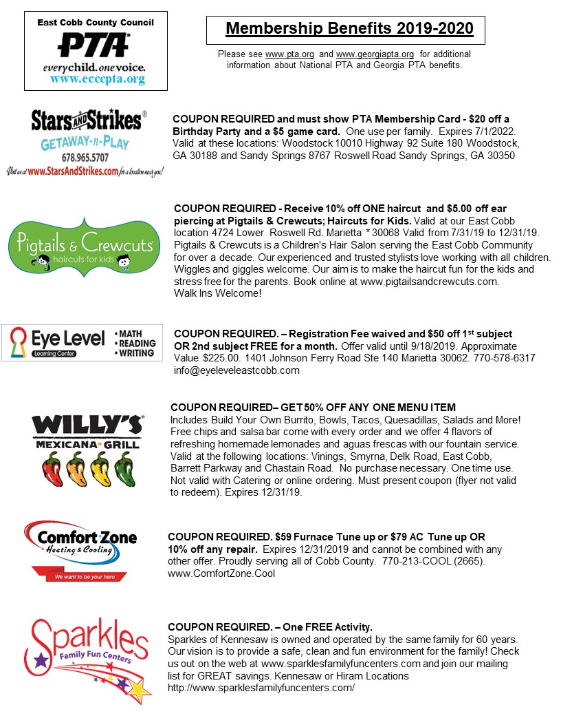 East Cobb local merchants benefits - page 1
