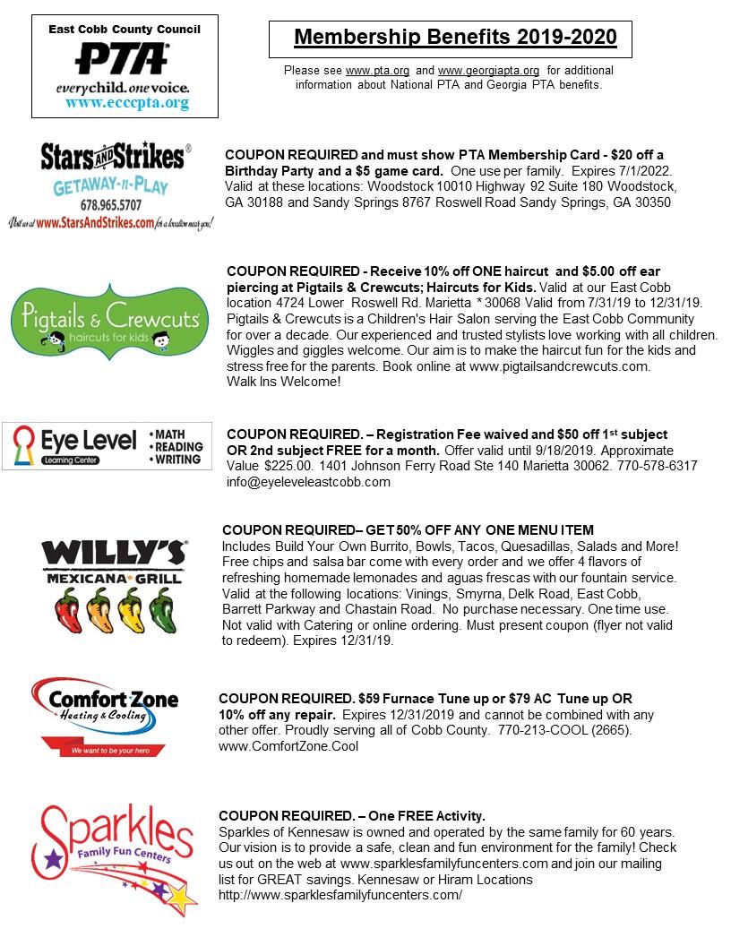 East Cobb local merchants benefits - page 1