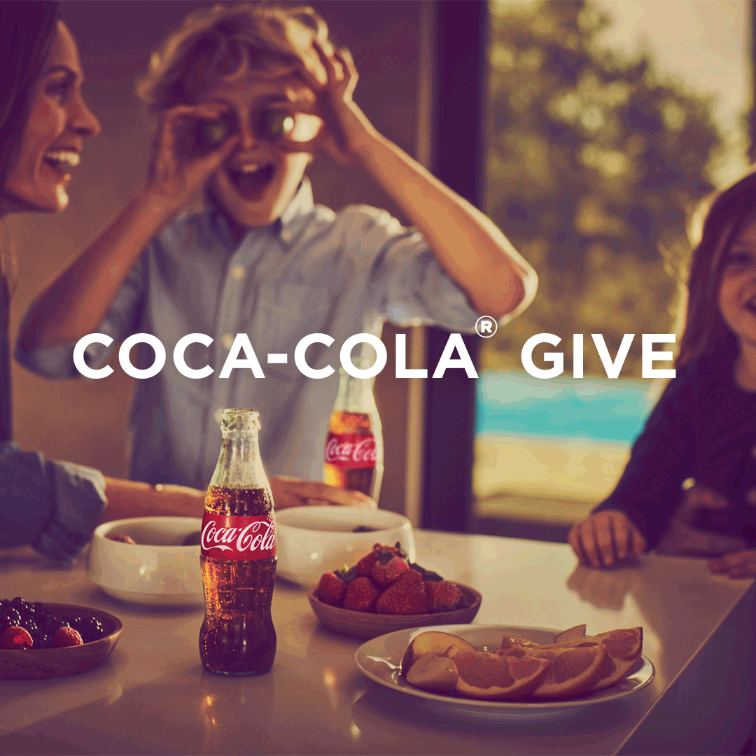 Coca-Cola Gives